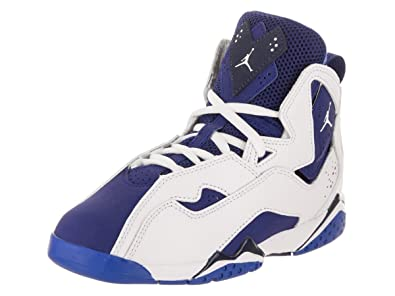 huge selection of 0c0eb 1c04c NIKE Jordan True Flight BP Boys Fashion-Sneakers 343796-116 11.5C - White