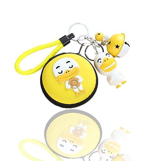 Amazon.com: docharn Cute Earbud Case Hard Auriculares Bolsa ...