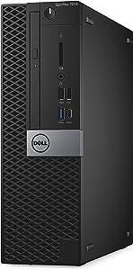 Dell OptiPlex 7070 Desktop Computer - Intel Core i5-9500 - 8GB RAM - 256GB SSD - Intel UHD Graphics 630 - Windows 10 Pro 64-bit - Small Form Factor - New