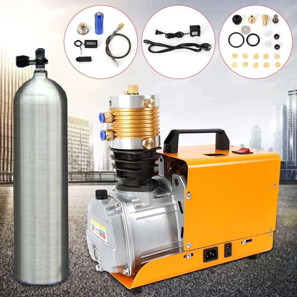 YUNRUX 4500PSI //30MPA Pompa ad alta pressione ad aria compressa Compressore Elettrico PCP pompa aria adatta per test ad alta pressione pistola ad aria compressa bombole auto