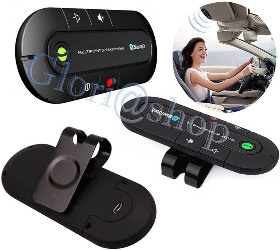kit vivavoce Bluetooth per auto vivavoce Bluetooth per auto professionale 100/% nuovo di zecca KIMISS Trasmettitore FM