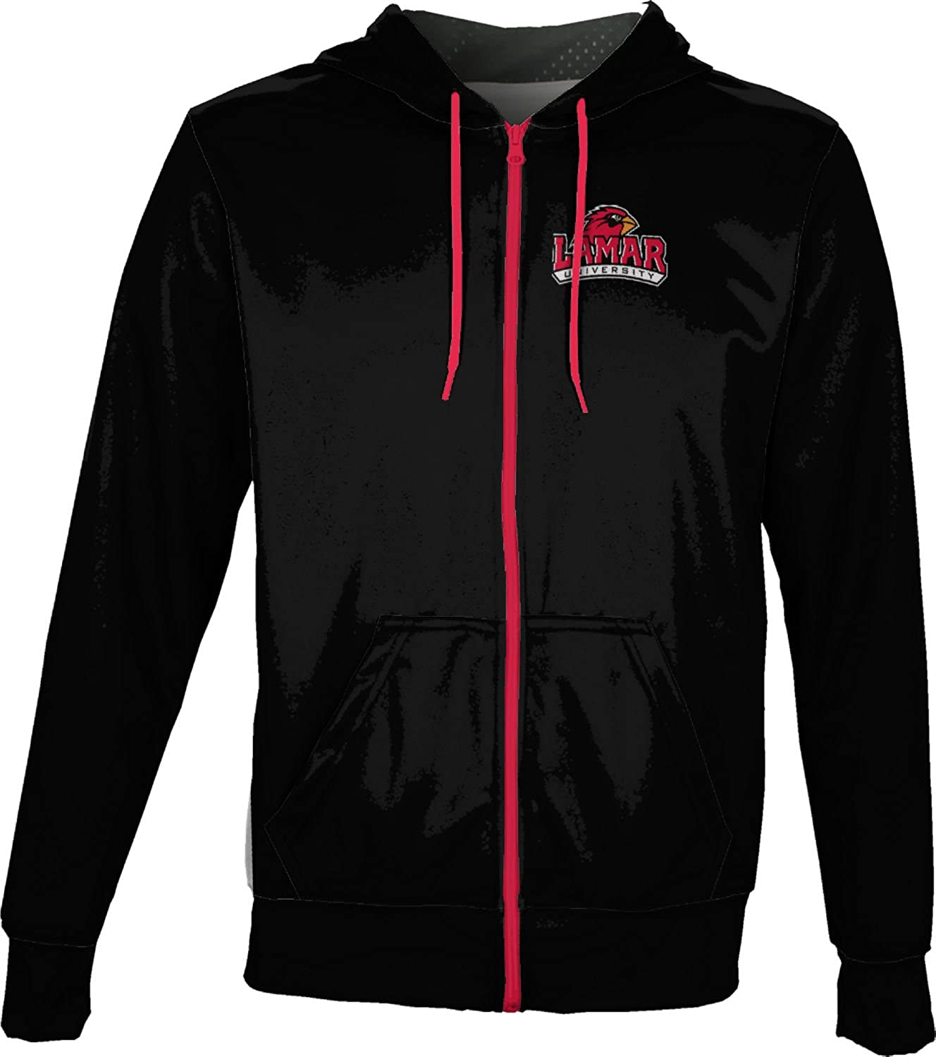 ProSphere Lamar University Mens Fullzip Hoodie Secondskin