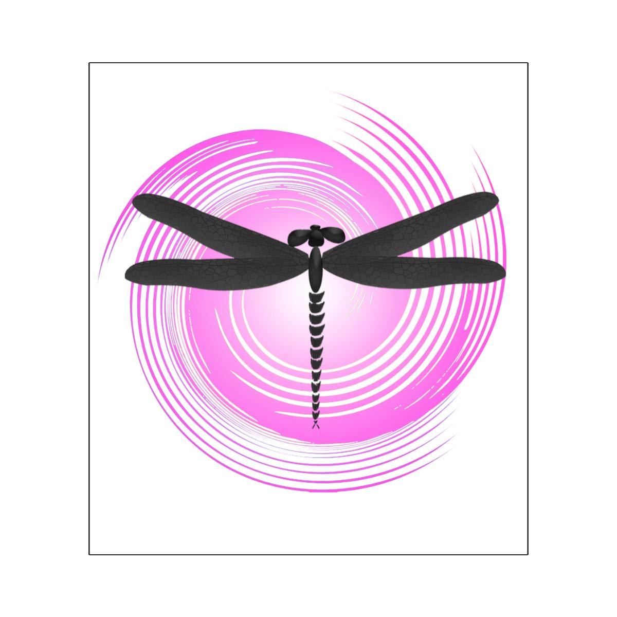 Harataki Retro Circle Dragonfly Unisex-Baby Newborn Short-Sleeve Bodysuit Rompers