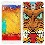 note3 Case, Samsung note 3 Case, Galaxy note3 Case , ChiChiC full Protective unique Case slim durable Soft TPU Cases Cover for Samsung Galaxy Note3 N900A N900V N9000 N9002 N9005 N900P N900T,yellow red mint tribal tiki mask