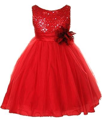 Amazon.com: Kids Dream Girls Deep Red Tulle