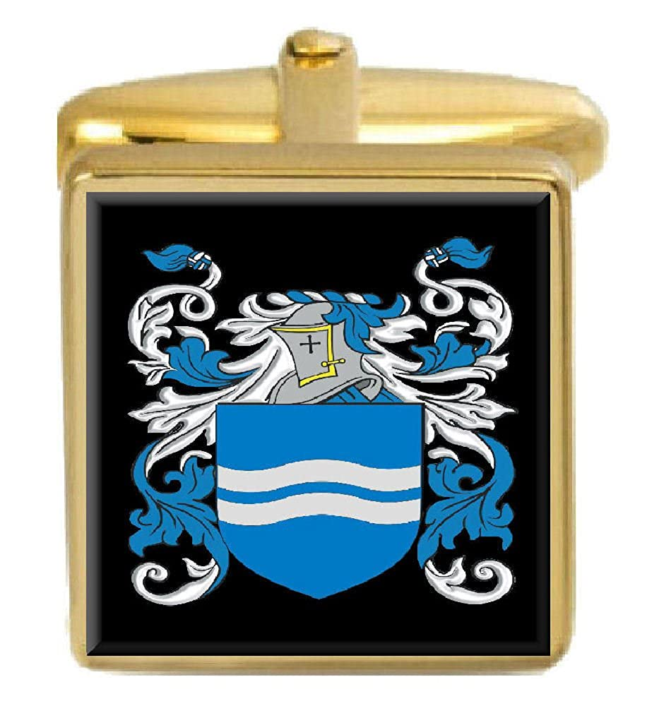 Select Gifts Livingston Scotland Heraldry Crest Heraldry Cufflinks Box Set Engraved