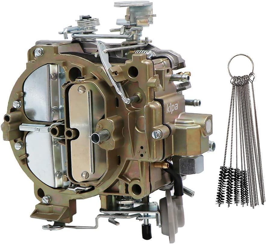 KIPA Carburetor For 1901R Rochester Quadrajet 4MV 4MV Chevy 1966-1973 Summit Jegs Divorced Choke 1901-GG 4-BBL, Replace for Corvettes 1975-1979 750 CFM Vacuum Secondary Durable