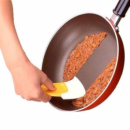 Rasqueta de silicona genérica para limpieza de sartenes, espátulas de cocina