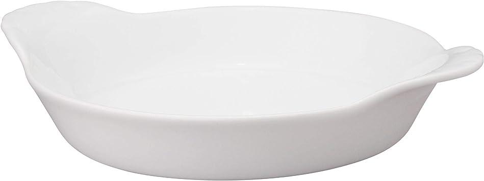 Harold Imports Porcelain Round 5 White Au Gratin Crème Brulee Baking Dish 4oz Amazon Co Uk Kitchen Home