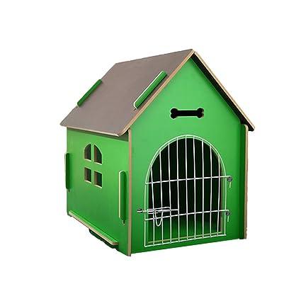 YXINY Perrera Alojamiento De Mascotas Casa De Mascotas Al Aire Libre Villa De Perrera De Madera