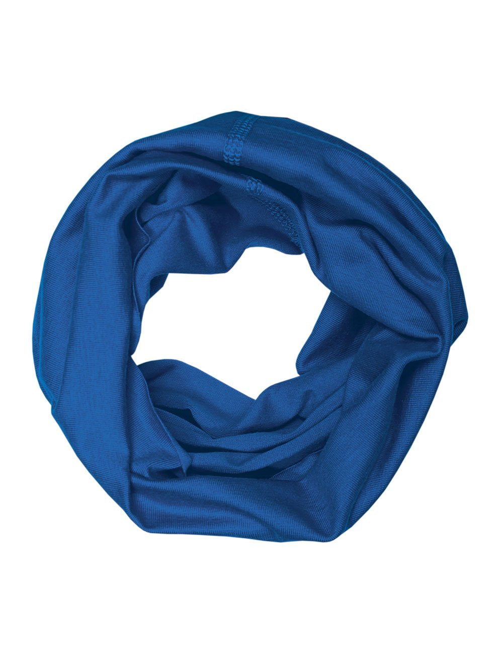 MaxiMo Boy's MultifunktionstuchuniUPF 50+ Plain Neckerchief Blue (Gentian) 23600-809500