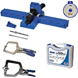 Kreg K5 Super Kit Bundle with K5 Jig, SK03 Screw Kit, KHC-1410 Automax Clamp, KHRC Right Angle Clamp and SSW Screw Selector