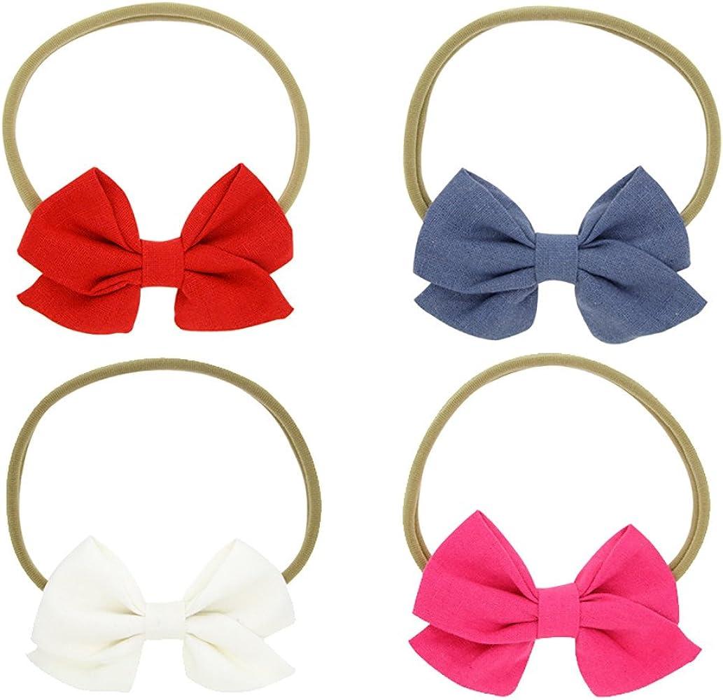 Amazon.com: iuhan bebé ropa de las niñas cintas para el pelo ...