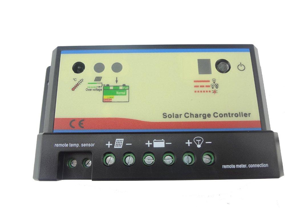 MISOL PWM Solar regulator 20A / Charge Power Controller / Regulator 12V / 24V 20 Amp solar charge controller