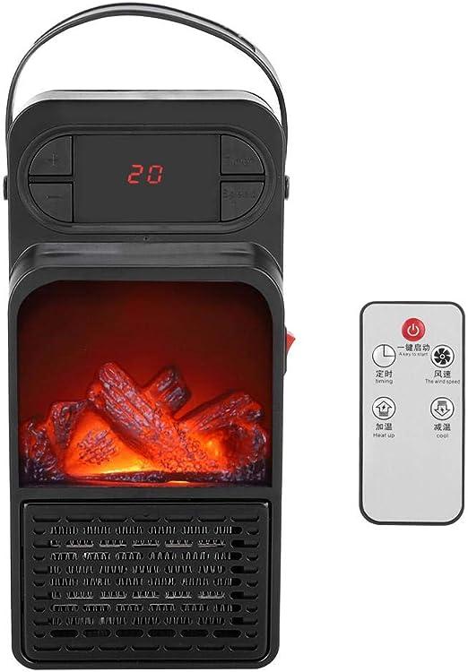 wosume Ventilador de calentador portátil, práctico calentador de ...