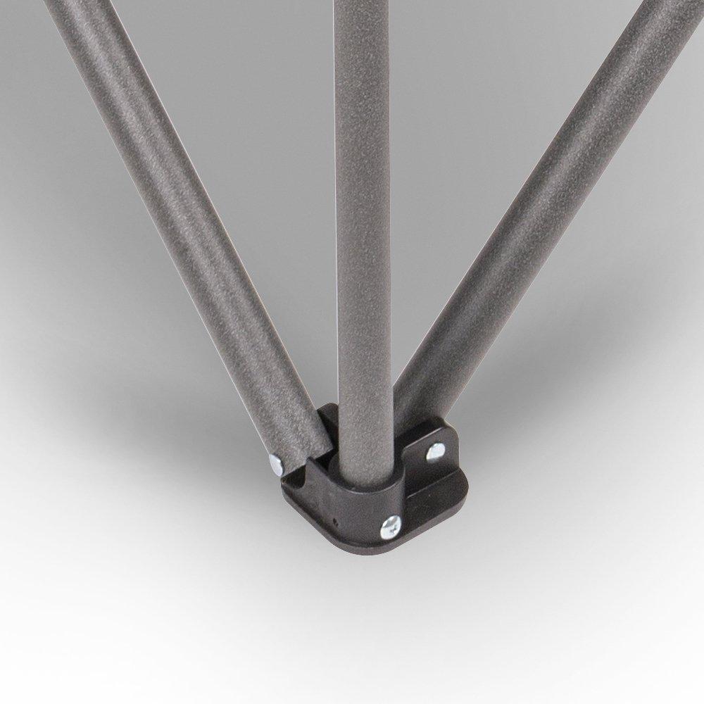Lot de 2 chaises de Camping XXL Charge maximale 180 kg avec Porte-gobelet et Compartiment Isotherme