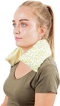 Saco Térmico Semillas Cervical - Almohada Cuello para Calentar en ...