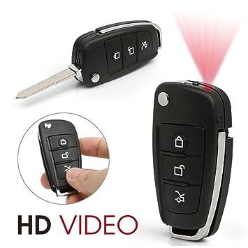 Schlüsselanhänger Mini Spion Kamera Auto Schlüssel Spy Cam HD Video DVR Überwa
