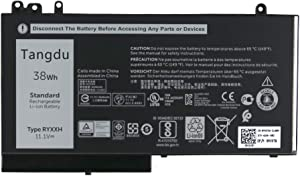 Tangdu RYXXH New Replacement Laptop Battery for dell Latitude 12 5000 E5250 Latitude 14 E5450 Latitude 15 E5550 Latitude 3150 3160 11.1v 38wh 3440mah 9P4D2 09P4D2 YD8XC 0YD8XC