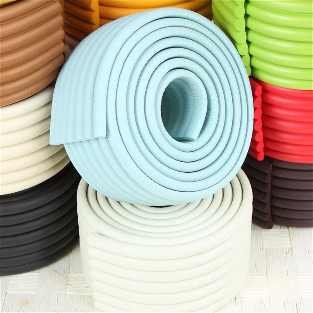 Color : Beige DaTun648 Multifunktion W-Form-M/öbel Tischkantenschutz Schaum Baby-Sicherheits-Sto/ßschutz-2M F/ür zu Hause Schlafsaal