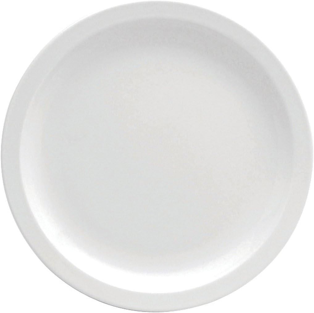 Oneida Foodservice Narrow Rim Plate, 6.5