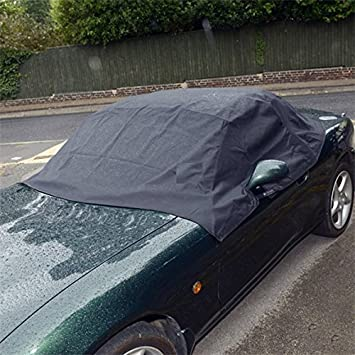 MAZDA MX5 MK3 LUXURY OUTSIDE FULL WATERPROOF COTTON LINED CAR COVER 2005-DATE