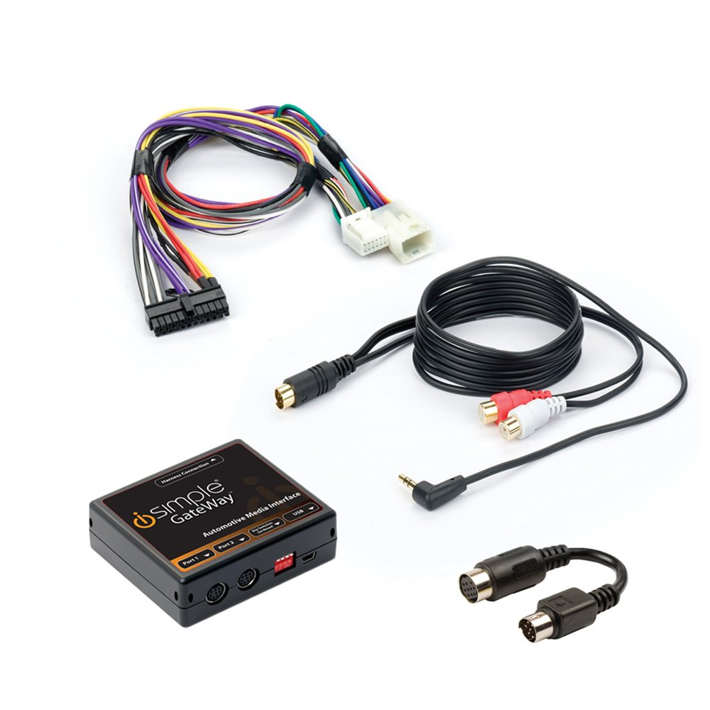 PAC ISTY12 Satwire Toyota/Lexus Sirius Kit with Aux In. Sxv100 / Sxv200 Tuner Sold Separately by iSimple