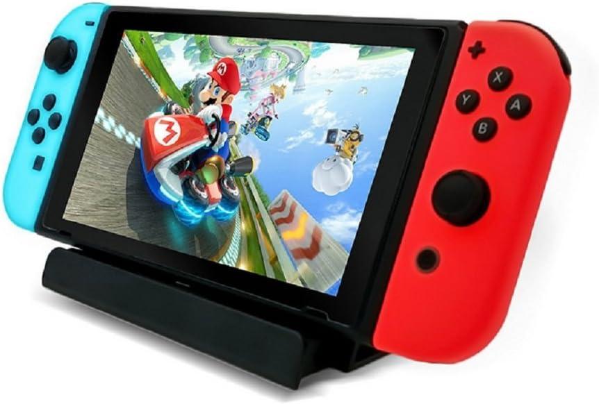 Soporte de cargador USB para Nintendo Switch, la base de carga de Nintendo Switch incluye cable tipo C: Amazon.es: Electrónica