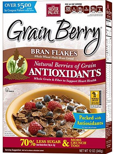 Grain Berry Bran Flakes Cereal, 12 ()