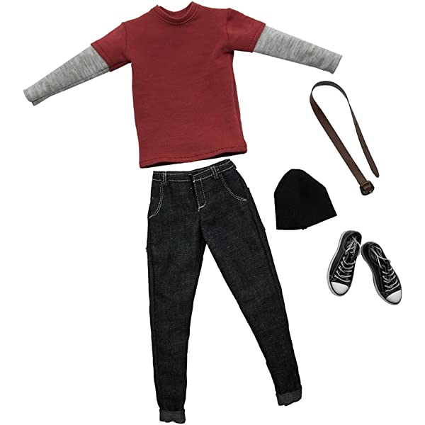 "1//6 Scale Red Pants for 12/"" Action Figure Toys"