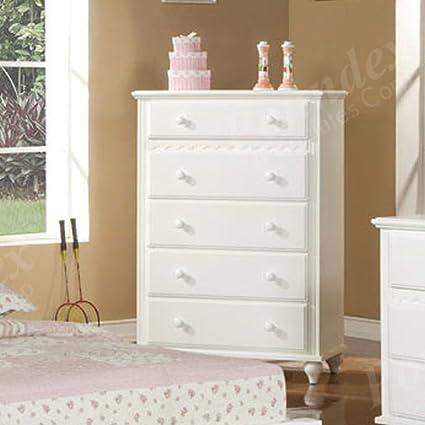 Amazon.com: Bedroom Storage Chest with Storage Drawers ...