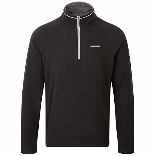 Craghoppers Men's Selby Half Zip Microfleece Jacket: Amazon.co.uk ...