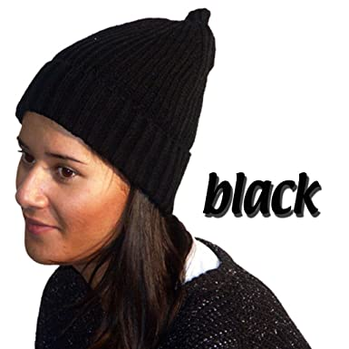 500e022de3d6af Knitted Hat Ladies Wooly Beanie Warm Winter Neon Thermal Insulation Head  Warmers: Amazon.co.uk: Clothing