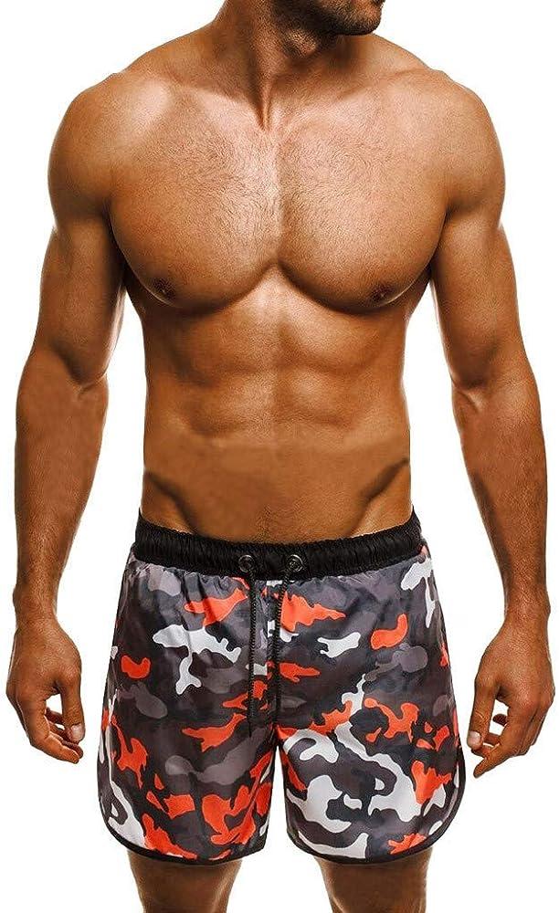 TIMEMEAN - Pantalones Cortos de Running para Hombre, Maletas de ...