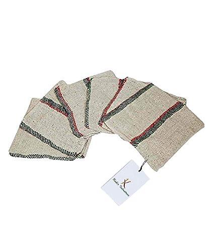 Kuber Industries 6 Piece Cotton Floor Wipes Cloth Set - Multicolour