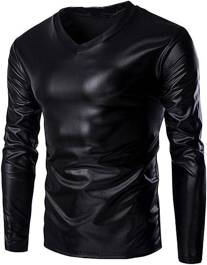 Glanz nylon T shirt Shiny fitness,Wet Look NEU Lack glänzend glossy shirt