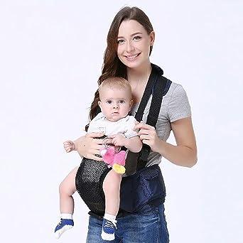 Mochila Portabebes Lleva Taburete De Cintura Straps Baby Hug
