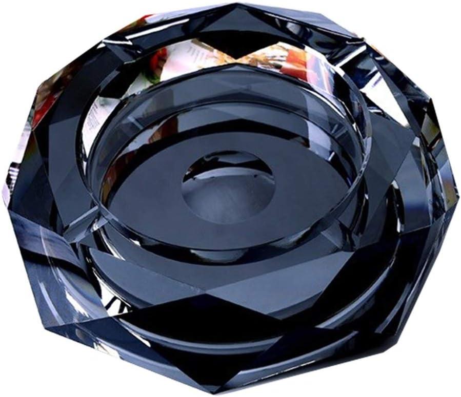 Cendrier cendrier cendrier Coupe-Vent cendrier europ/éen cendrier Salon Cendrier en Verre Cristal Cadeau de Mode Gros Articles m/énagers Petite Maroquinerie