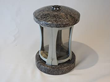 designgrab Rondo Grab lámpara de granito de Paradiso y aluminio pulido Cuerpo Grab lámpara Grab lámpara