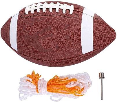 VGEBY1 Balón de Rugby tamaño 6 Balón de Grado Profesional ...