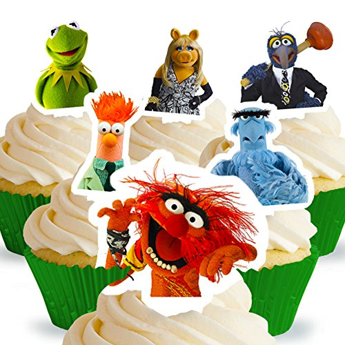 Cakeshop 12 x PRE-CUT Disney The Muppets Stand