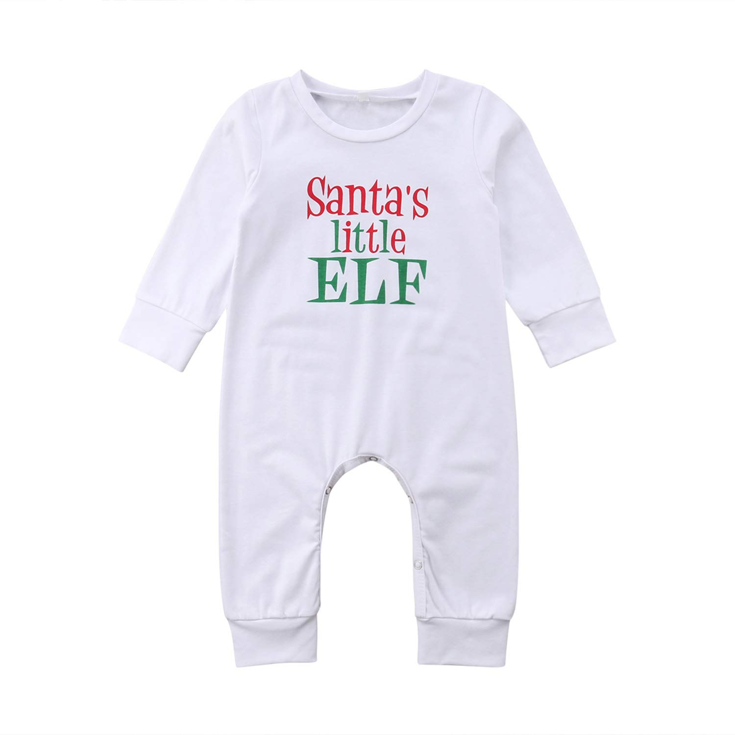 63a0e5354364 Amazon.com: SUPERON Christmas Baby Clothes Long Sleeve Cotton Warm Newborn  Toddler Baby Kids Romper Jumpsuit Casual Playsuit 0-24M: Clothing