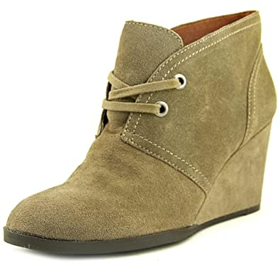 83b097339 Lucky Brand Womens Seleste Almond Toe Ankle Fashion Boots, Brindle, Size  6.5 3N6