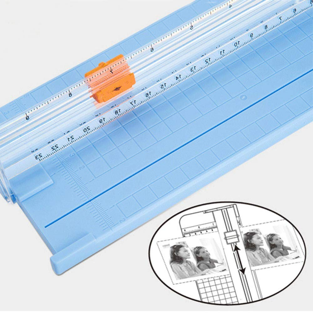 SISHUINIANHUA 1Pcs Practical Portable Slide Blade Paper Cutter Replacement, Cutting Blades by SISHUINIANHUA
