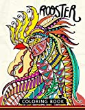 Rooster Coloring Book: Adults Stress-relief Coloring Book For Grown-ups