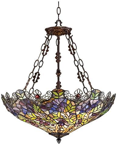 Floral garden 3 light tiffany glass bowl pendant chandeliers floral garden 3 light tiffany glass bowl pendant aloadofball Images
