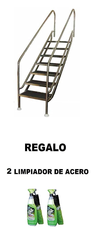 Instalación sin necesidad de obra. REGALO 2 Limpiador de acero: Amazon.es: Jardín