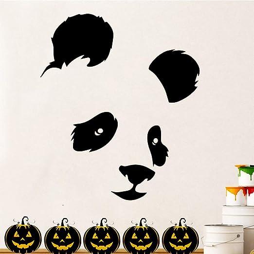 SMZYKW Etiqueta de la Pared DIY Panda Family Wall Stickers Mural ...