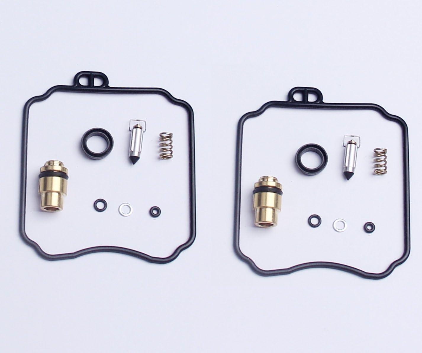 1 Yamaha XV250 2 Sets Carburetor Carb Repair Rebuild Kits Yamaha XV250 Virago XVS650 V-Star 18-5171