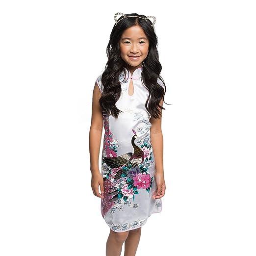 ce22cfdd8aba Amazon.com: Posh Peyton Asian Kimono Mini Dress (2T): Clothing
